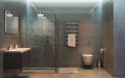 Instalación de fontanería en baño